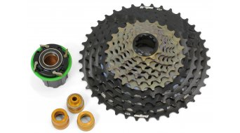 Hope 11 speed cassette MTB cogset (incl. Hope Pro 4 ) black