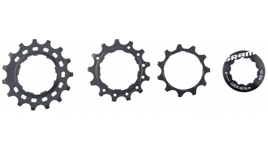 SRAM EX1 Kassettenpignon- set XG-899 11T, 13T, 15T, incl. Lockring noir
