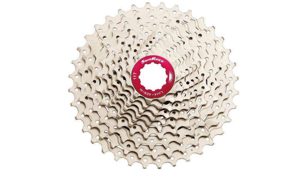 SunRace MX0 10-fach Kassette 11-36 Zähne metallic
