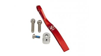K-Edge Pro Double Road guida catena per a saldare- supporto red