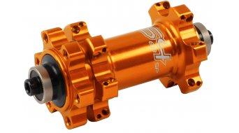 Hope RS4 Straightpull disc road bike front wheel hub 24 hole QR 5x100mm orange