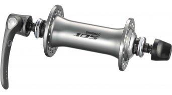 Shimano 105 buje rueda delantera 36h color plata HB-5700