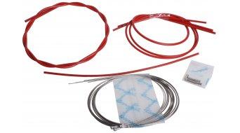 Campagnolo Ergopower Schalt-/Bremszug Set mit Innen- & Außenzügen rot, nur für Rennrad CG-ER600R