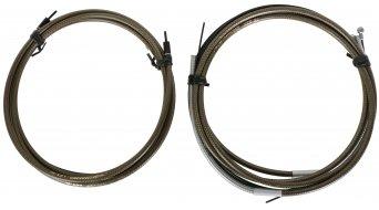 Jagwire Road Pro Schalt-/Bremszugset carbon silber