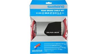 Shimano BC-9000 Polymer Road Bremszug-Set rot
