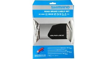 Shimano BC-9000 Polymer Road Bremszug-Set weiß