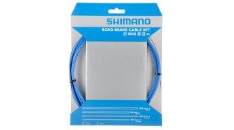 Shimano OT-SP41 PTFE Road juego cables de freno azul