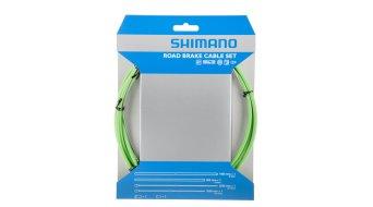 Shimano OT-SP41 PTFE Road juego cables de freno verde