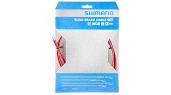 Shimano OT-SP41 PTFE Road juego cables de freno rojo(-a)