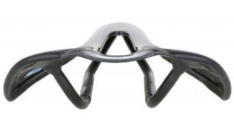 AX Lightness Leaf Plus 3K carbono sillín 3K-carbono/de cuero negro(-a) (hasta-100kg-Fahrergewicht)
