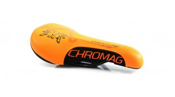 Chromag Overture saddle Brandon Semenuk-Liaison Series black/orange 2018 Chromag Overture saddle Brandon Semenuk-Liaison LTD. Series orange 2018