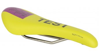 Fizik Gobi M3 MTB sella telaietto k:ium 130x290mm yellow/purple- SELLA PER TEST