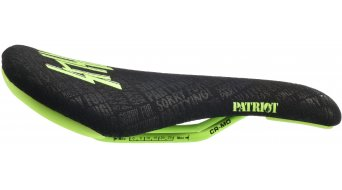 SDG Patriot Sensus CroMo saddle Kevlar black/neon green