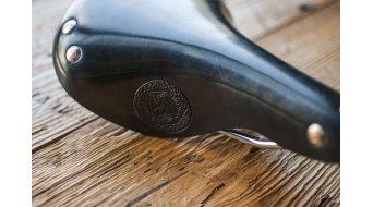 Selle Italia Epoca sedlo ocel-rám černá