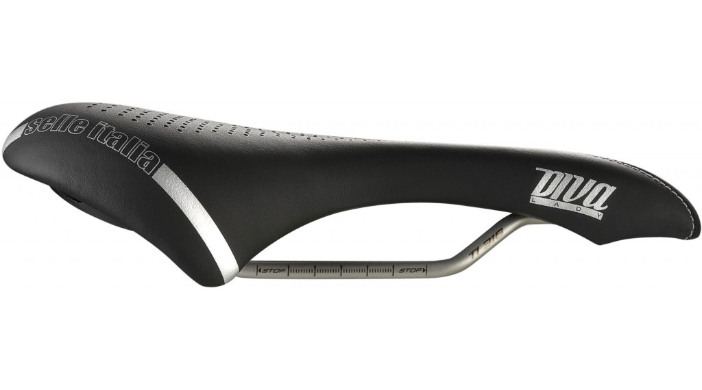 Selle Italia Diva gel Superflow sella da donna S3 nero