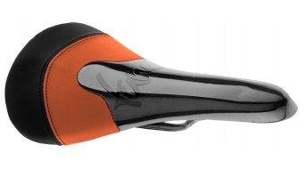 Tune Komm-Vor dvě barevný/á/é karbon sedlo orange/černá