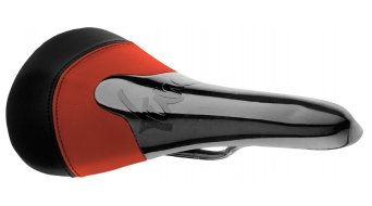 Tune Komm-Vor dvě barevný/á/é karbon sedlo červená/černá