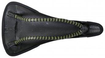 Tune Speedneedle Marathon Carbon Sattel mit Leder-Bezug schwarz