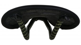 Tune Speedneedle carbon saddle with leather cover black