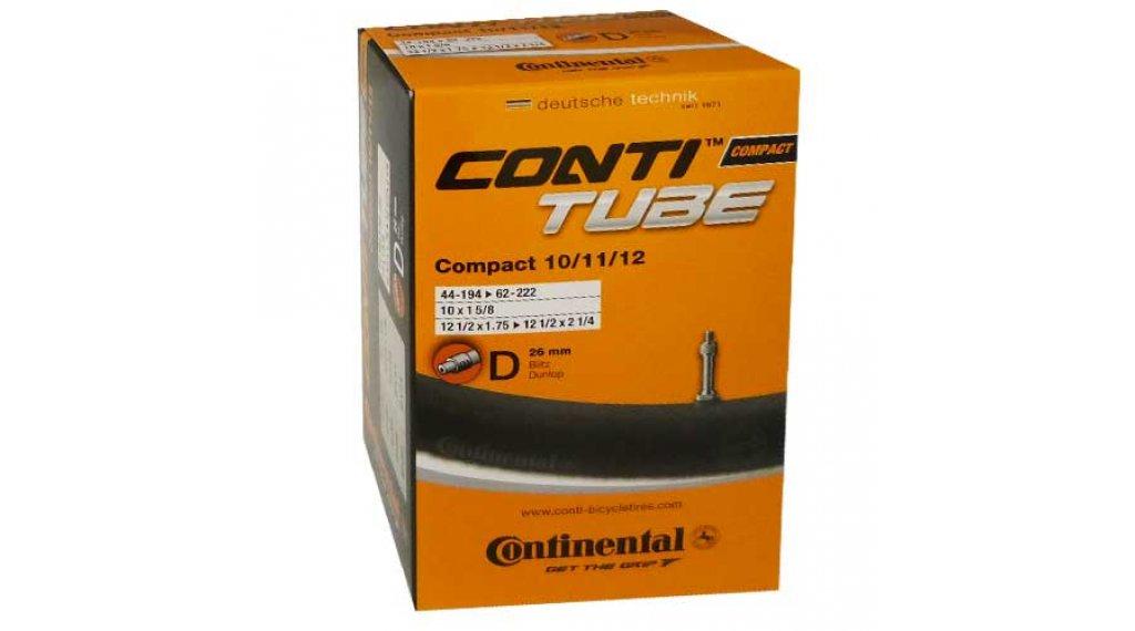 Continental Compact 10/11/12 自行车内胎 44-194 ->62-222 Dunlop气门芯(德嘴) 26mm