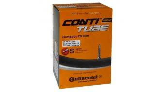 Continental Compact 20 slim véloschlauch 28-406 -> 32-451 (20x1 1/8-1 1/4) valve Presta/Sclaverand (Sclaverandiamètre 42 mm