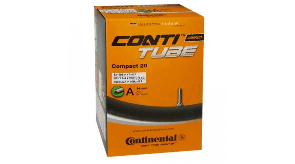 Continental Compact 20 自行车内胎 32-406 -> 47-451 汽车气门芯(美嘴) 34mm