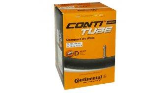 Continental Compact 24 wide véloschlauch 50-507 -> 60-507 (24x2.0-2.4) valve Dunlop 40mm