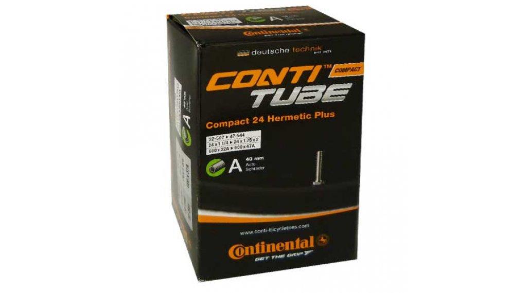 Continental Compact 24 Hermetic Plus 自行车内胎 32-507 -> 47-544 汽车气门芯(美嘴) 34mm