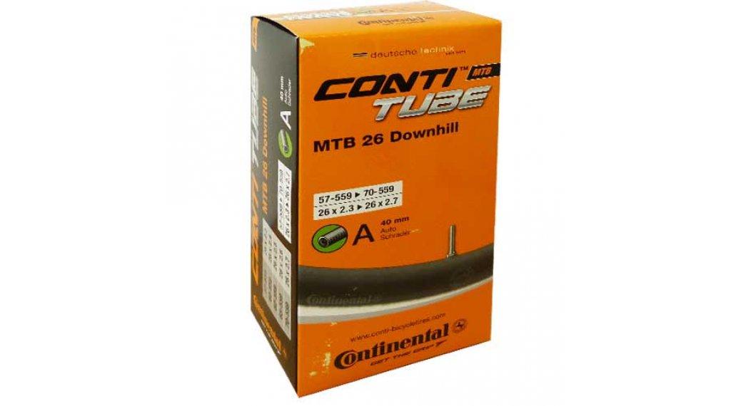 Continental MTB(山地) 26 Downhill(速降) 1,5mm 自行车内胎 57-559 -> 70-559 (26x2.3-2.7) 汽车气门芯(美嘴) 40mm