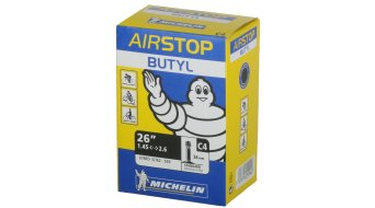Michelin C4 Airstop tube 26x1.40-2.10 valve 37/54-559