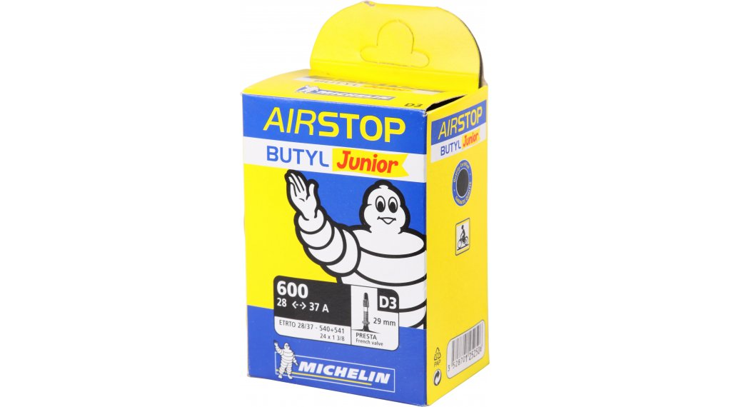 Michelin D3 Airstop Schlauch 24 frz. Ventil 28/37-540/541