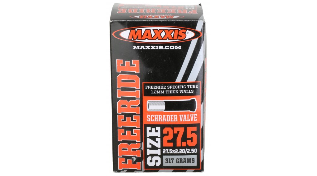 "Maxxis Freeride/DH light 27.5"" Schlauch 27.5x2.20/2.60 Autoventil schwarz"