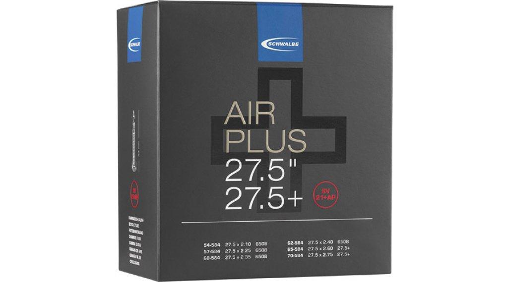 Schwalbe Air Plus Schlauch Nr. 21 für 27.5+ SV21+AP (27.5x2.10-2.75) frz.-Ventil 40mm
