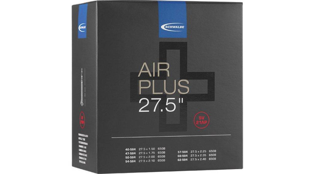 "Schwalbe Air Plus Schlauch Nr. 21 für 27.5"" SV21AP (27.5x1.50-2.40) frz.-Ventil 40mm"