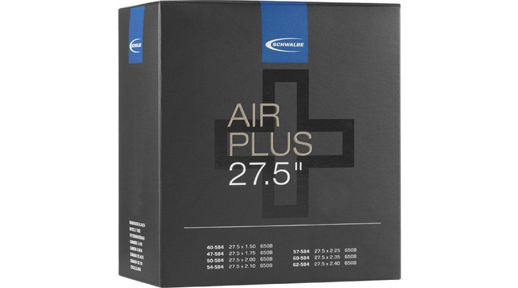 """Schwalbe Air Plus Schlauch Nr. 21 für 27.5"""" AV21AP (27.5x1.50-2.40) Autoventil 40mm"""