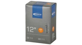 """Schwalbe 内胎 Nr. 1 适用于 12 DV1 标准 (12x1.50-2.25"""") Dunlop气门芯(德嘴) 32mm, 80克"""