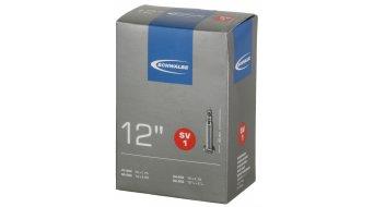 """Schwalbe 内胎 Nr. 1 适用于 12 SV1 标准 (12x1.50-2.25"""") 法式气嘴 40mm, 80克"""