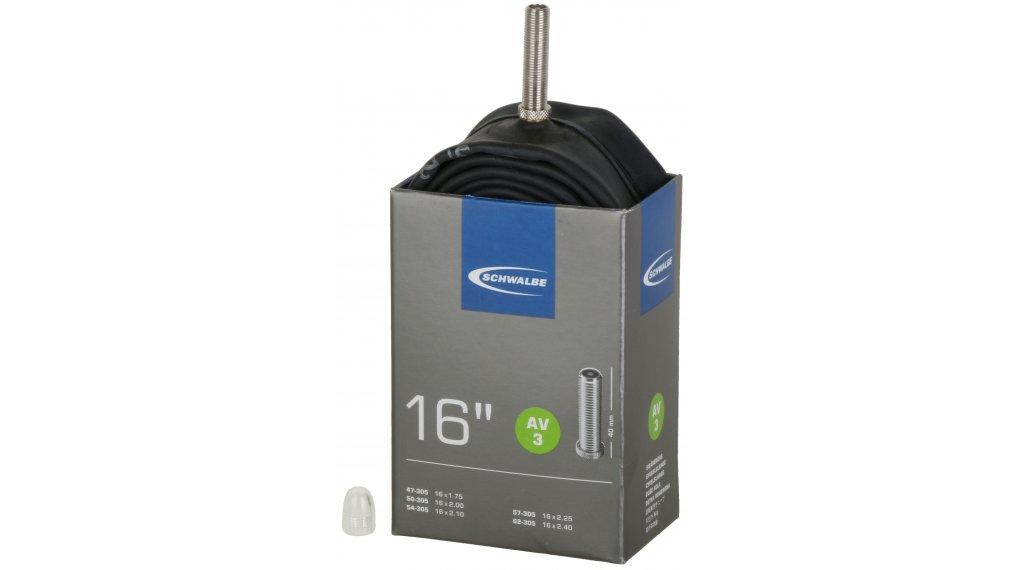 Schwalbe Schlauch Nr. 3 Standard für 16 AV3 (16x1.75-2.40) Autoventil 40mm