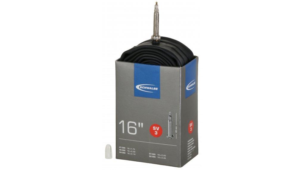 Schwalbe Schlauch Nr. 3 Standard für 16 SV3 (16x1.75-2.40) frz.-Ventil 40mm