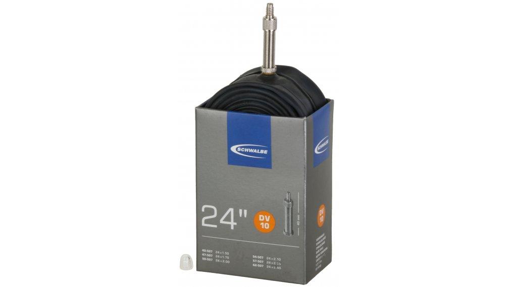 """Schwalbe Schlauch Nr. 10 für 24 DV10 Standard (24x1.50-2.50"""") Dunlopventil 32mm, 165g"""