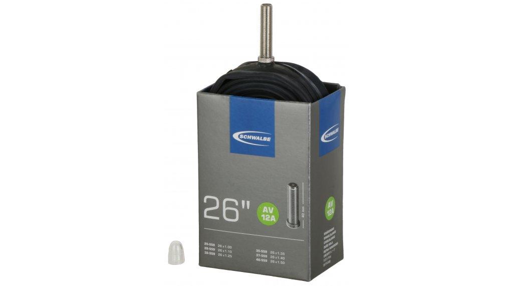 """Schwalbe Schlauch Nr. 12 für 26 AV12A Standard (26x1.00-1.50"""") Autoventil 40mm, 120g"""