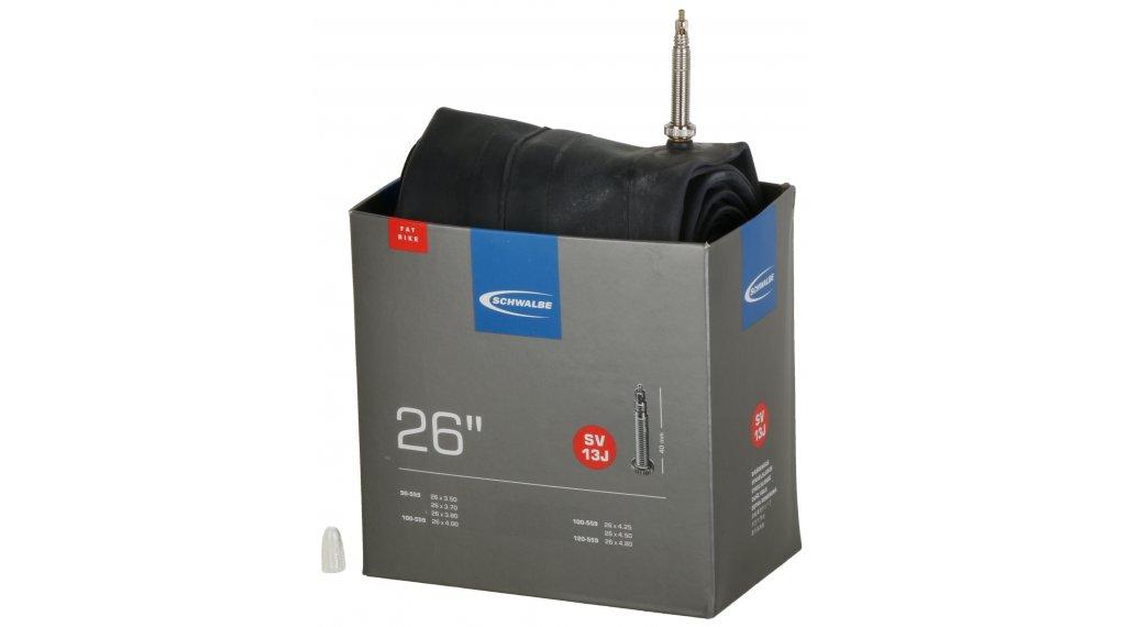 """Schwalbe Schlauch Nr. 13 für 26 SV13J Standard/Fatbike (26x3.50-4.80"""") frz.-Ventil 40mm, 390g"""