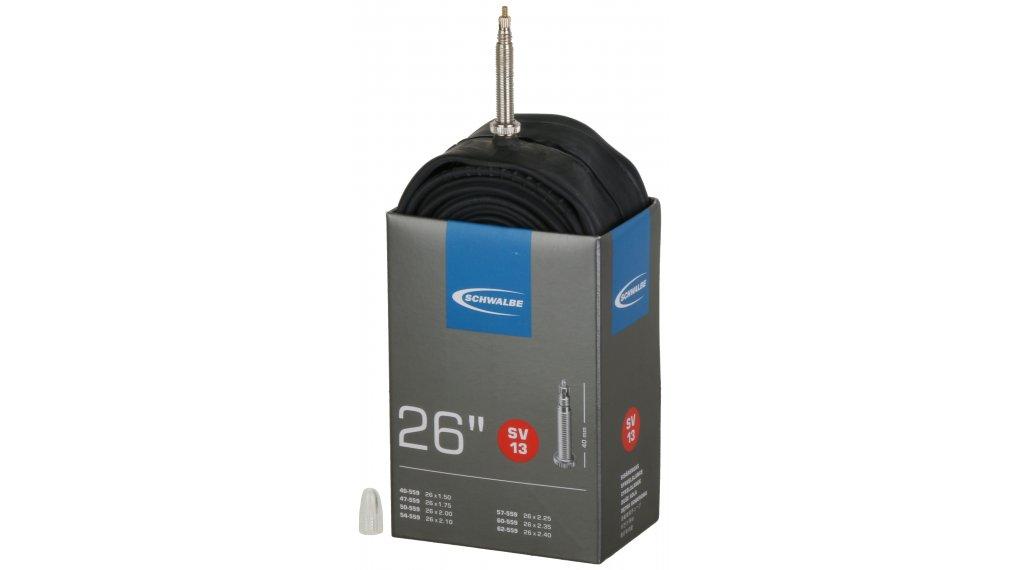 """Schwalbe Schlauch Nr. 13 für 26 SV13 Standard (26x1.50-2.50"""") frz.-Ventil 40mm, 190g"""