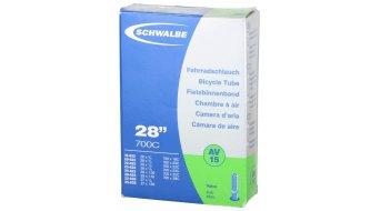 Schwalbe 内胎 Nr. 15 适用于 28 AV15 标准 (700/18-28C) 汽车气门芯(美嘴) 40mm, 105克