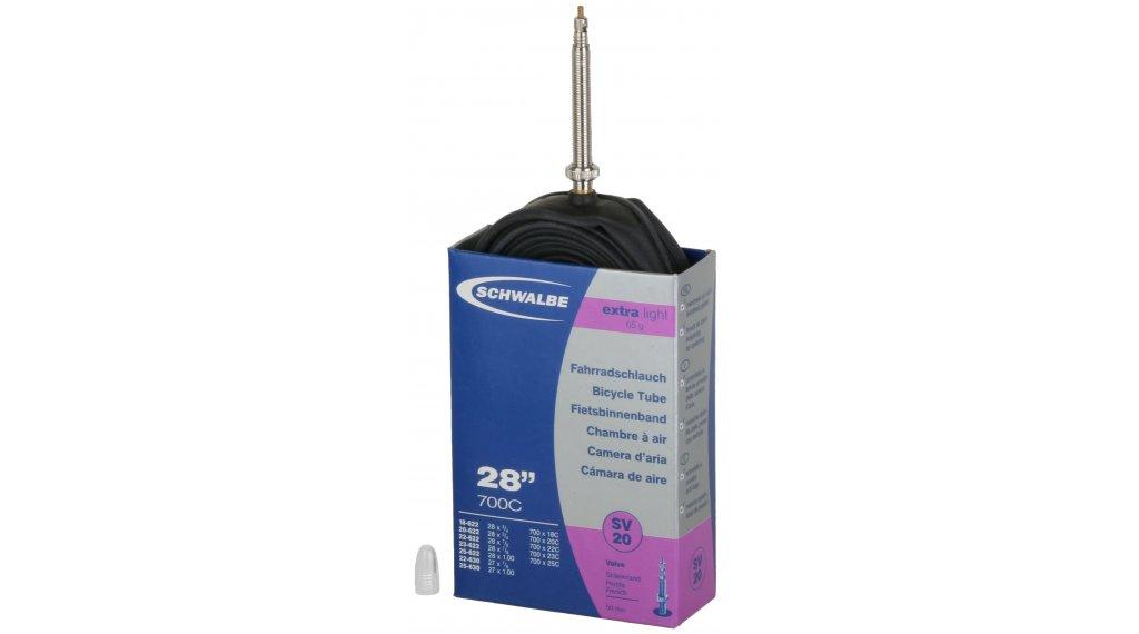 Schwalbe 内胎 Nr. 20 适用于 28 SV20 ExtraLight (700/18-25C) 法式气嘴 50mm, 65克