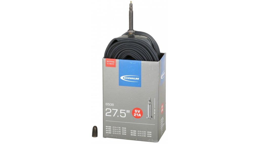 """Schwalbe Schlauch Nr. 21 Extralight für 27.5"""" SV21A (27.5x1.50-2.40"""") frz.-Ventil 40mm"""