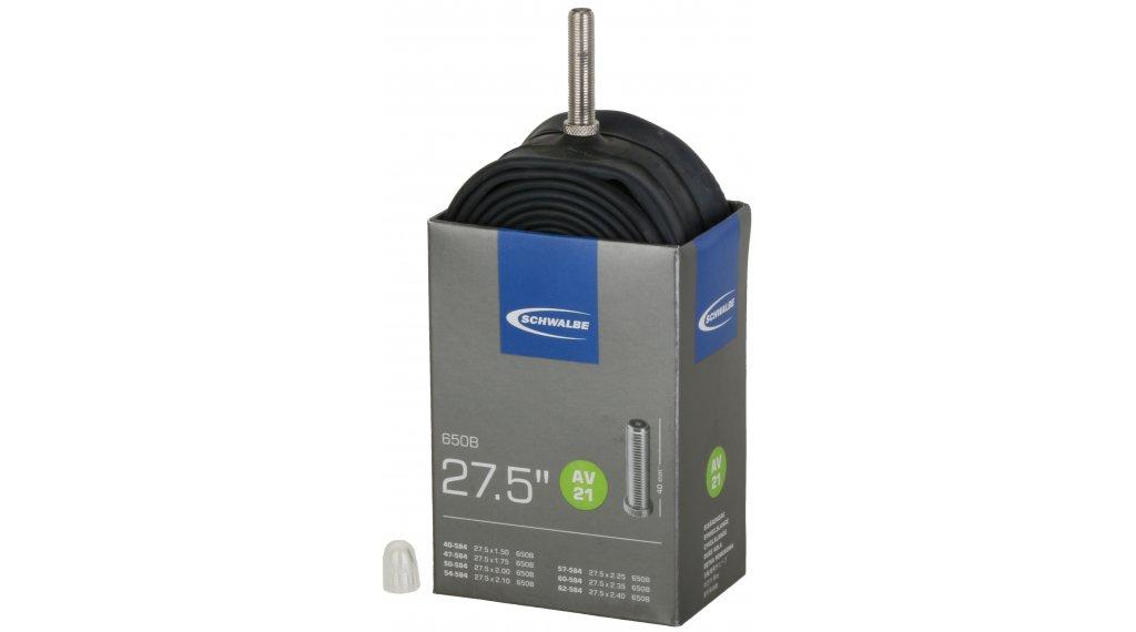 """Schwalbe Schlauch Nr. 21 für 27,5 AV21 Standard (27.5x1.50-2.40"""") Autoventil 40mm, 205g"""