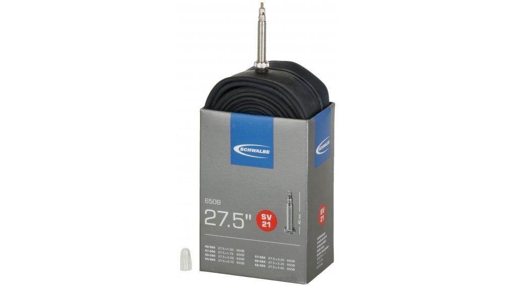 """Schwalbe Schlauch Nr. 21 für 27,5 SV21 Standard (27.5x1.50-2.40"""") frz.-Ventil 40mm, 205g"""