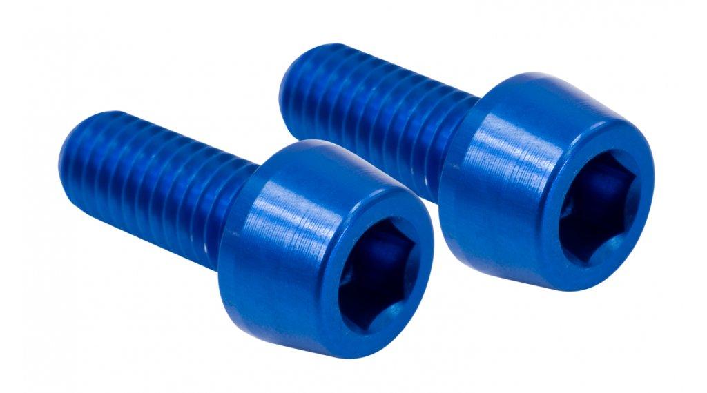 NC-17 CNC Flaschenhalterschrauben blau