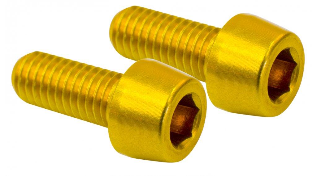NC-17 CNC Flaschenhalterschrauben gold